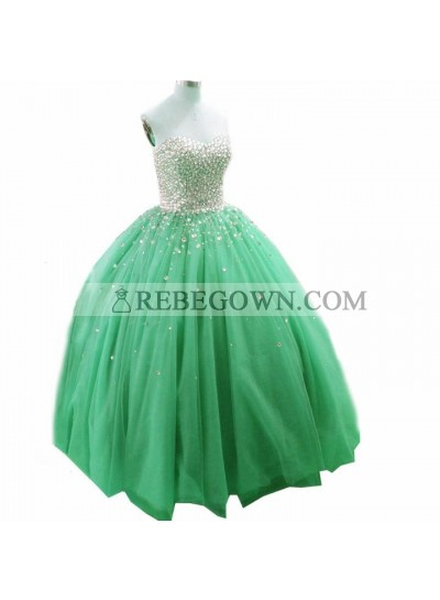 Newly Tulle Sweetheart Ball Gown Prom Dresses 2021