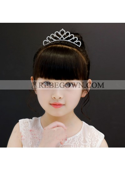 Princess Crown Girl's Crown First Holy Communion Crown Cheap Girl's Headwear