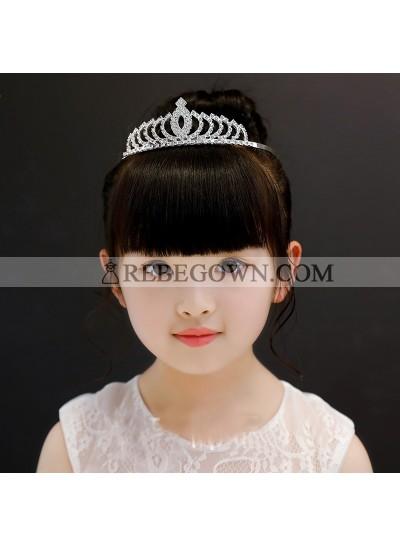 Princess Crown Girl's Crown First Holy Communion Crown Cheap Girl's Headwear