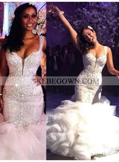 2020 Sweetheart Mermaid  Wedding Dress