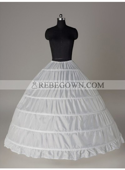 2020 Wedding Petticoats Nylon Ball-Gown 1 Tier Floor Length Slip Style/Wedding