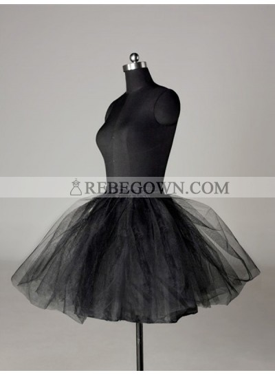 2020 Wedding Petticoats Tulle Netting Ball-Gown 2 Tier Short Length Special Occasion