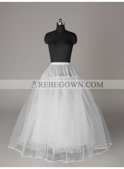 2021 Wedding Petticoats Tulle Netting Ball-Gown 3 Tier Floor Length Slip Style/Wedding